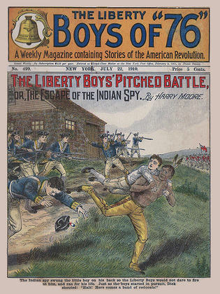 The Liberty Boys' Pitched Battle