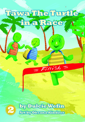 Tawa the Turtle in a Race