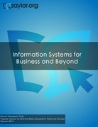 Information systems for business and beyond