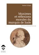 Maximes et réflexions morales du marquis de Sade