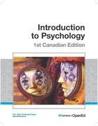 Introduction to Psychology, 1st Canadian Edition