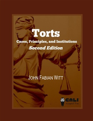Torts: cases, principles, and institutions