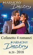 Cofanetto 4 romanzi Harmony Destiny - 20