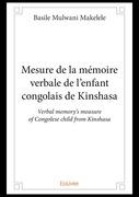 Mesure de la mémoire verbale de l'enfant congolais de Kinshasa