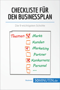 Checkliste für den Businessplan
