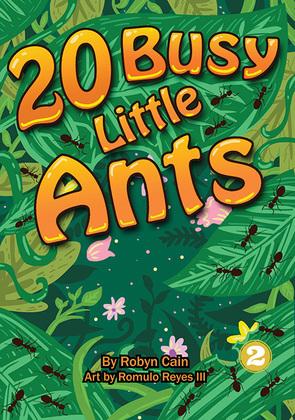 20 Busy Little Ants