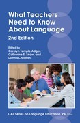 What Teachers Need to Know About Language