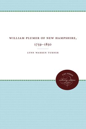 William Plumer of New Hampshire, 1759–1850