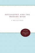 Philosophy and the Modern Mind