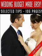 Wedding Budget Made Easy!