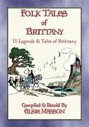 FOLK TALES OF BRITTANY - 15 illustrated children's stories
