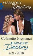 Cofanetto 6 romanzi Harmony Destiny - 21