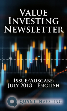 2018 07 Value Investing Newsletter by Quant Investing / Dein Aktien Newsletter / Your Stock Investing Newsletter