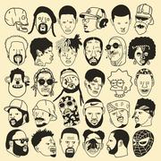 Gangster Doodles