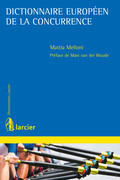 Dictionnaire européen de la concurrence