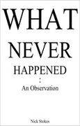 What Never Happened: An Observation