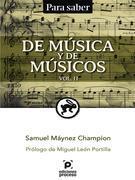 De música y de músicos Vol. II