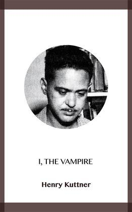 I, the Vampire