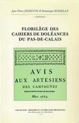 Florilège des Cahiers de doléances du Pas-de-Calais
