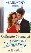 Cofanetto 6 romanzi Harmony Destiny - 23