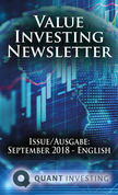 2018 09 Value Investing Newsletter by Quant Investing / Dein Aktien Newsletter / Your Stock Investing Newsletter