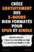 Créez gratuitement des e-books bien formatés pour ePub et Kindle