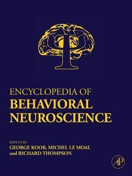 Encyclopedia of Behavioral Neuroscience, Three-Volume Set, 1- 3: Online version