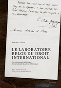 Le laboratoire belge du droit international