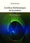 Certificat Mathématiques du Secondaire