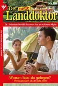 Der neue Landdoktor 80 – Arztroman