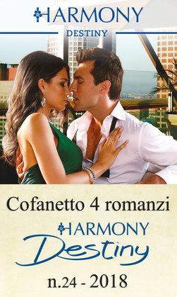 Cofanetto 4 romanzi Harmony Destiny - 24