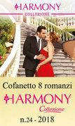 Cofanetto 8 romanzi Harmony Collezione - 24