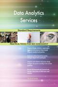 Data Analytics Services Standard Requirements