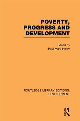 Poverty, Progress and Development