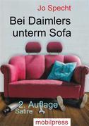 Bei Daimlers unterm Sofa