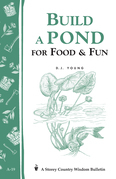 Build a Pond for Food & Fun