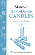 Making Hand-Dipped Candles