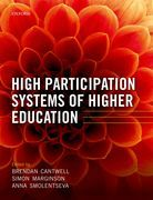 High Participation Systems of Higher Education