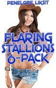 Flaring Stallions 6-Pack (bestiality, horse sex, zoophilia, animal sex, knotting)