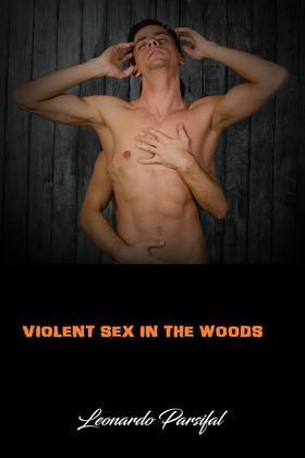 Violent sex in the woods