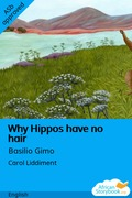 Why Hippos have no hair
