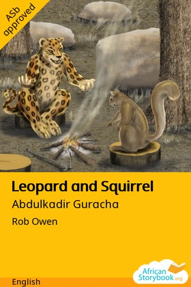 Leopard and Squirrel