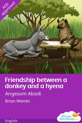 Friendship Between a Donkey and a Hyena