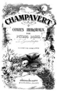 Champavert- Contes Immoraux
