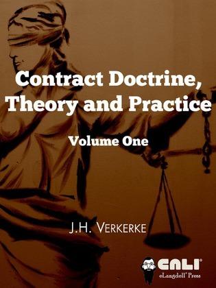 Contract doctrine: theory & practice
