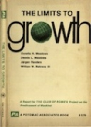 The Limits to growth; a report for the Club of Rome's project on the predicament of mankind