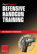 Gun Digest's Defensive Handgun Training eShort: The basics of dry fire and live fire handgun practice for defensive handgunning.