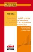 David Gefen. La confiance, variable centrale des modèles d'acceptation des Technologies de l'information et de la communication