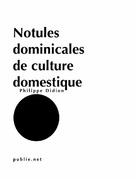 Notules dominicales de culture domestique