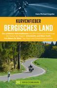 Kurvenfieber Bergisches Land. Motorradführer im Taschenformat